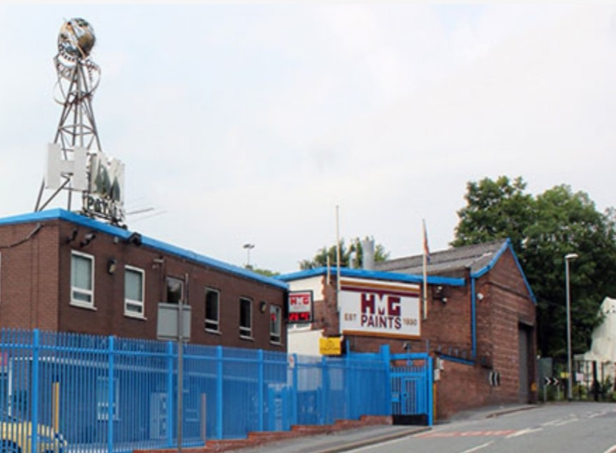 HMG HQ in Manchester
