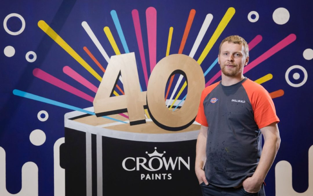 Gatis Celmins is Apprentice Decorator of the Year