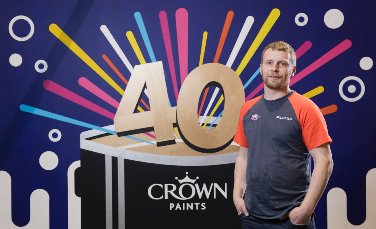 Gatis Celmins is Apprentice Decorator of the year 2019