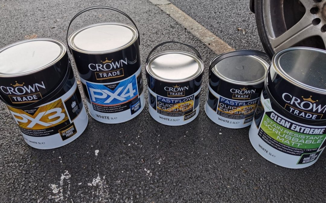 Crown PX3 & PX4 adhesion primer Review