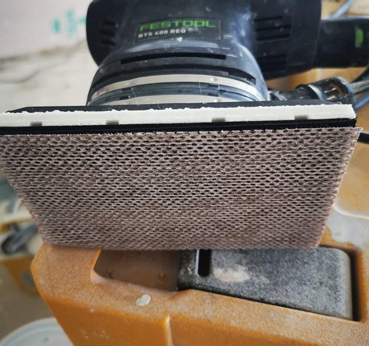 Fossa evo mesh sanding discs Review