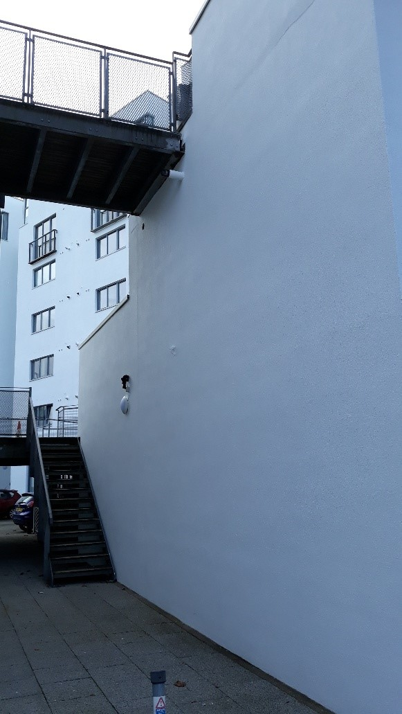 Sandtex Transforms Green Flagship Apartments with Sandtex Trade Fine textured masonry paint