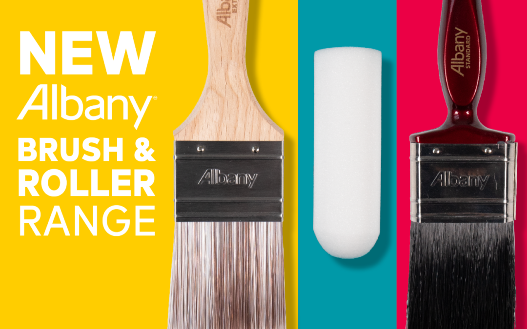 Albany launch new range of brushes and rollers