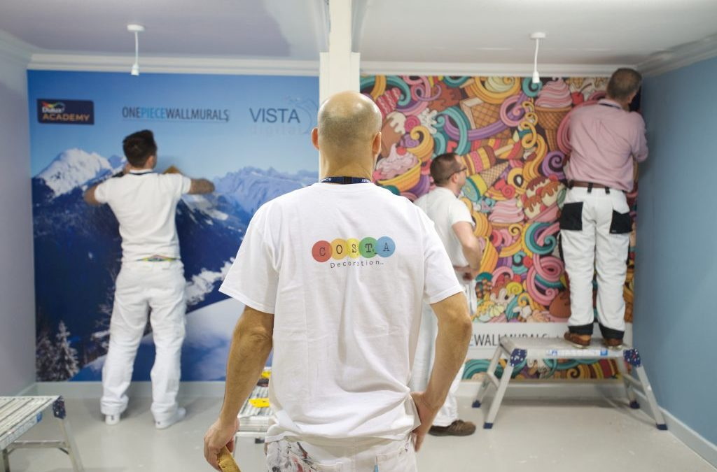 Dulux Academy Wall Mural Course Review