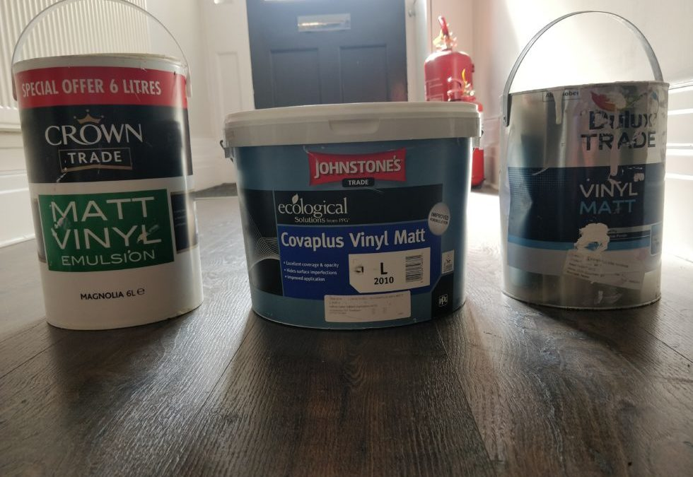 Dulux Crown or Johnstone's Emulsion? What to buy