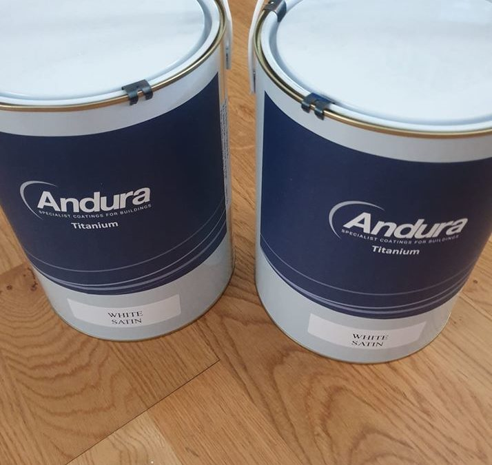 Andura Titanium One water - based Satin review Andy Scott