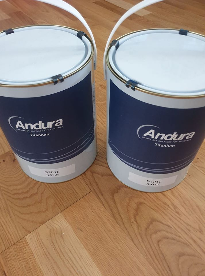 Andura Titanium One waterbased Satin review by Andy Scott