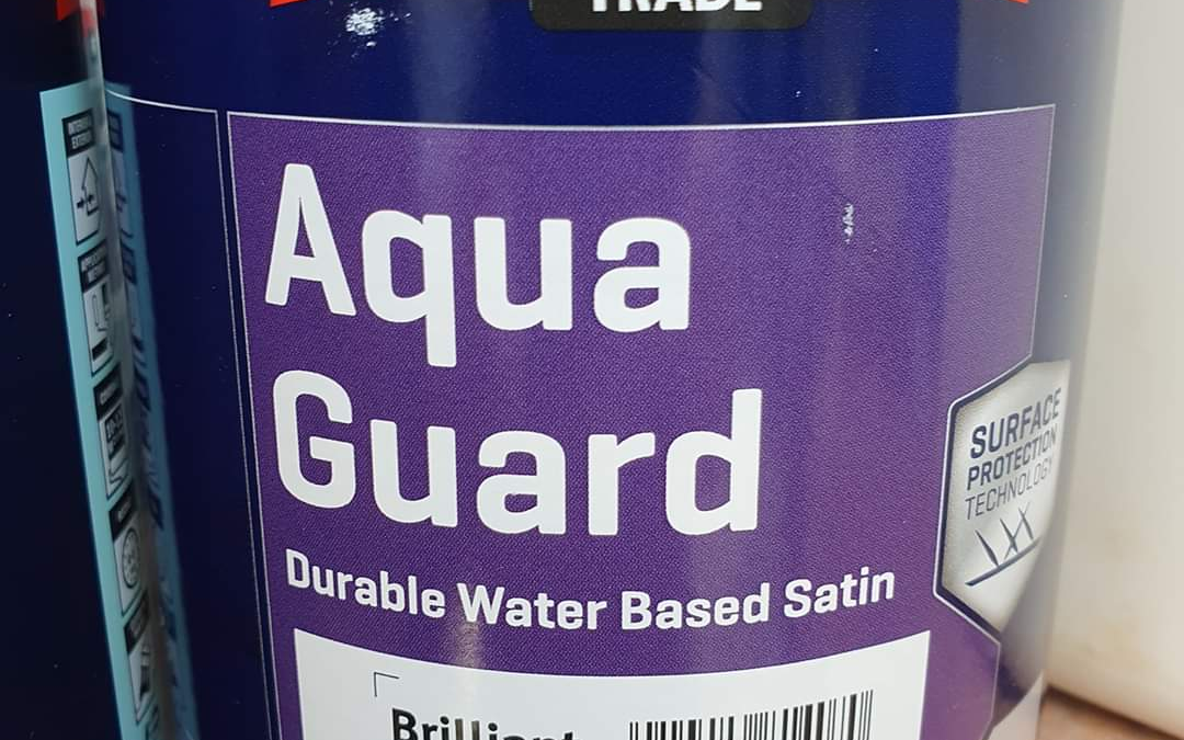 Johnstone's Aqua Guard Satinwood – Two Coats??