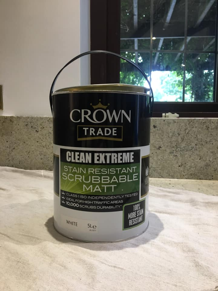 Crown Trade Clean Extreme Stain Resistant Matt For high traffic areas