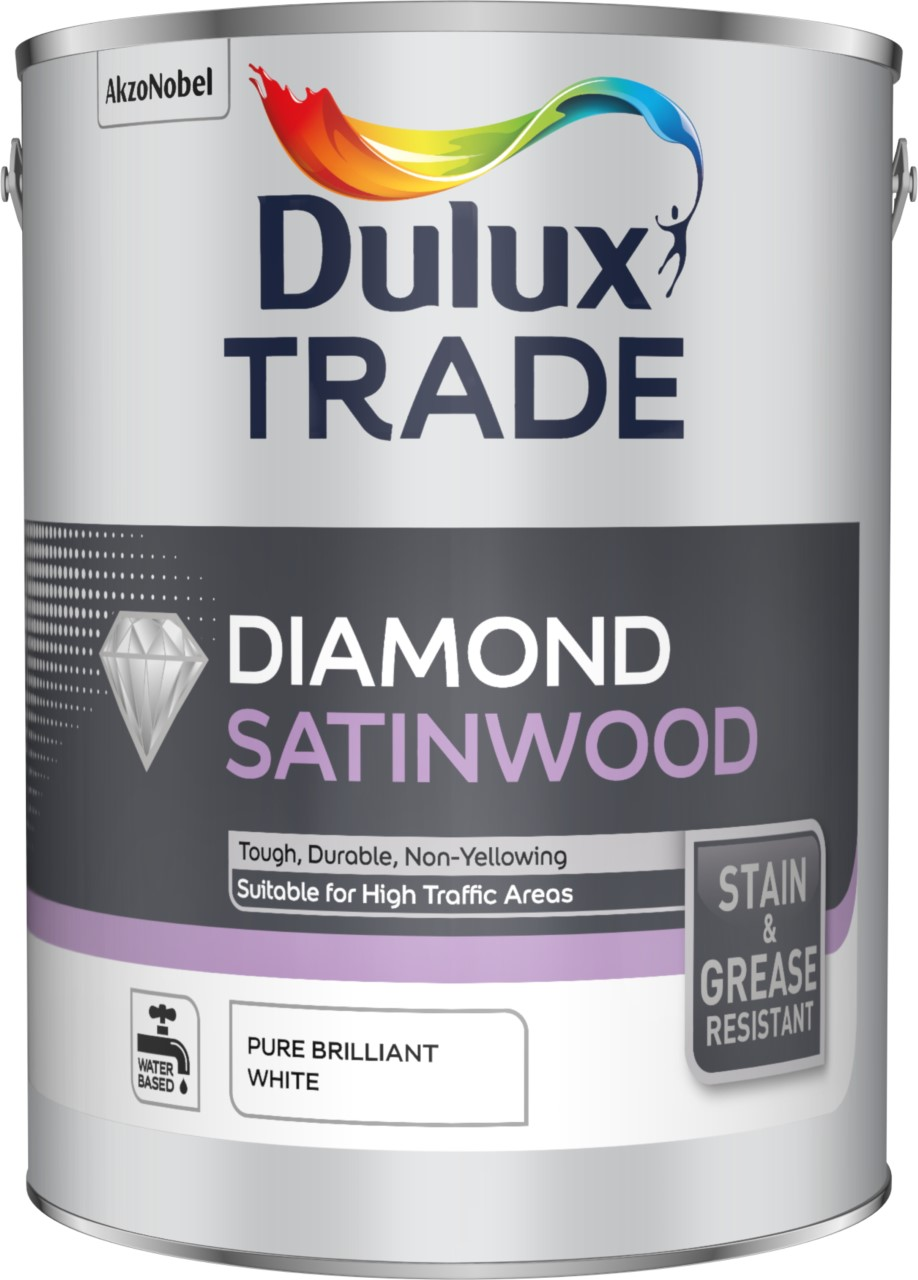 dulux diamond satinwood Water-based paints taking the industry by storm