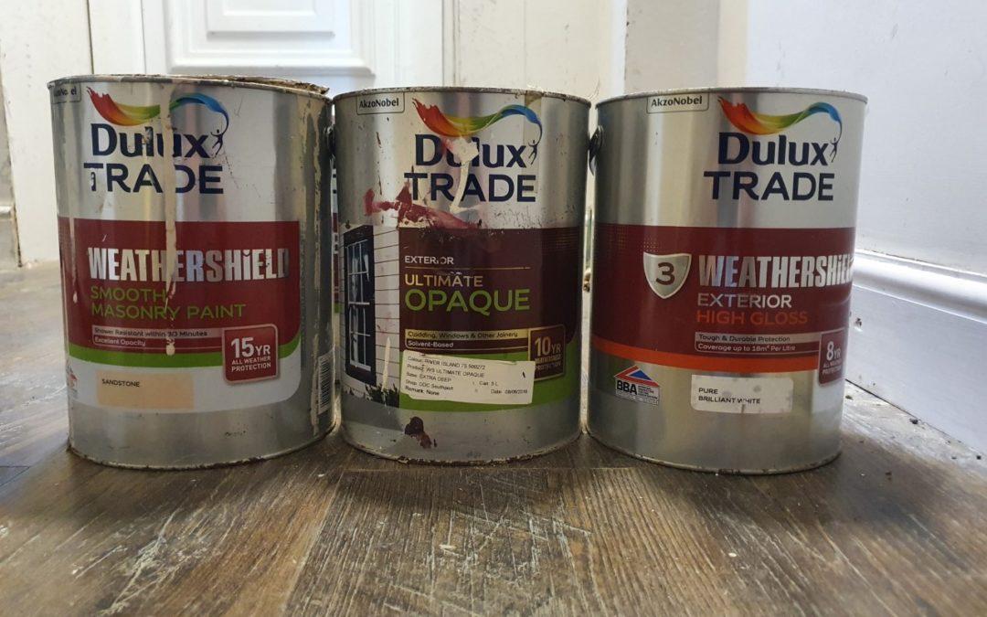 Dulux Weathershield Paint Review - exterior paint