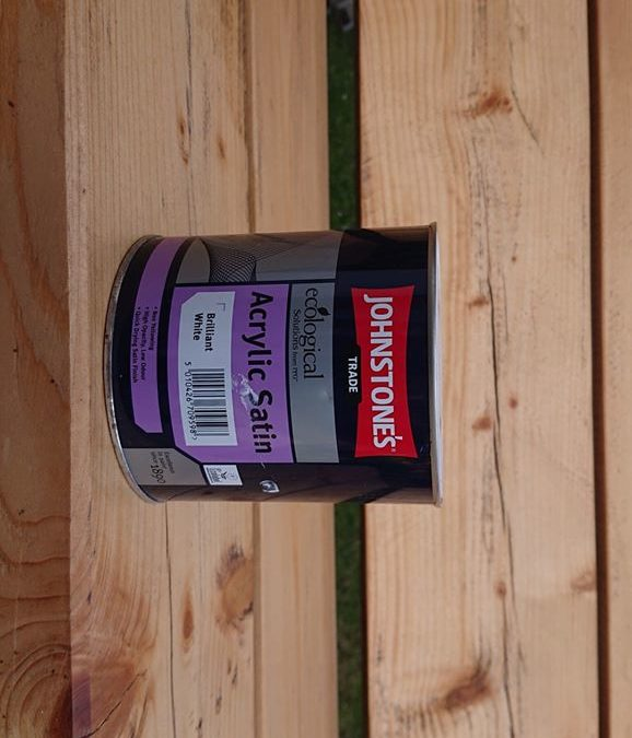Johnstone's Aqua satin and gloss, water-based paint review
