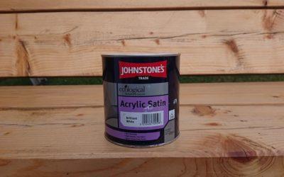 Johnstone's Aqua Satin and Gloss