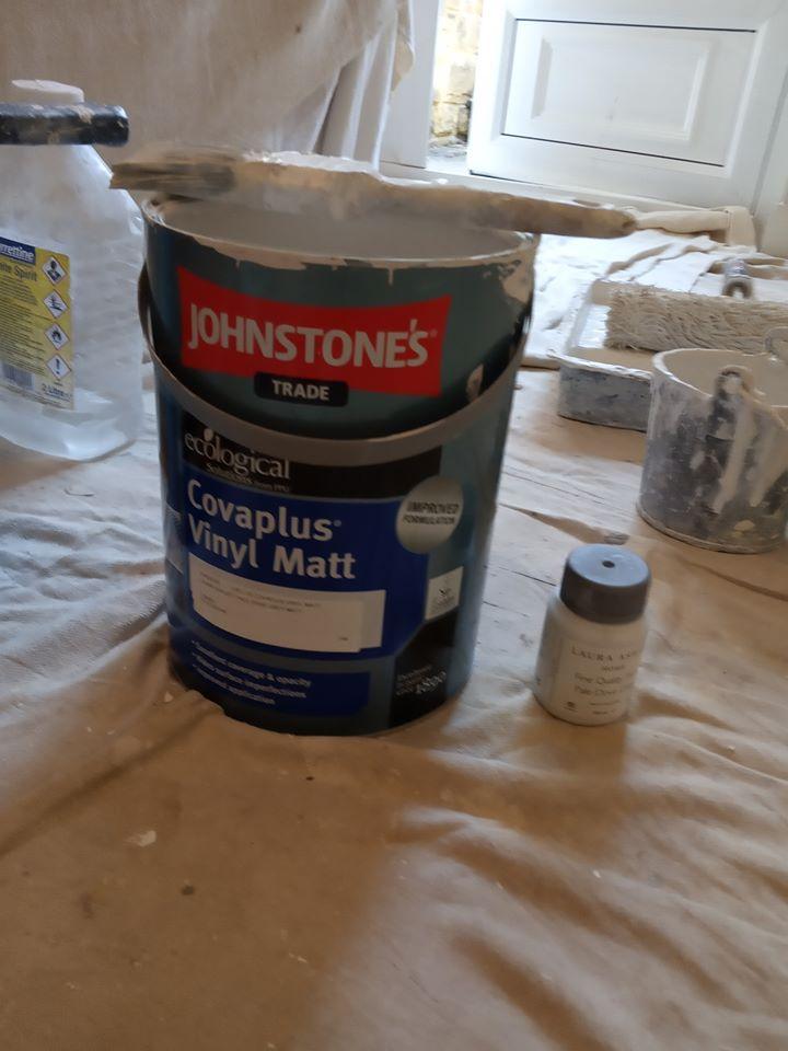 best place to buy Johnstone's paint and a full Johnstone's Covaplus Vinyl Matt Review