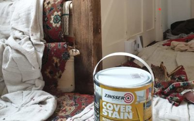 Zinsser Cover Stain Review- Stain Block and Adhesion