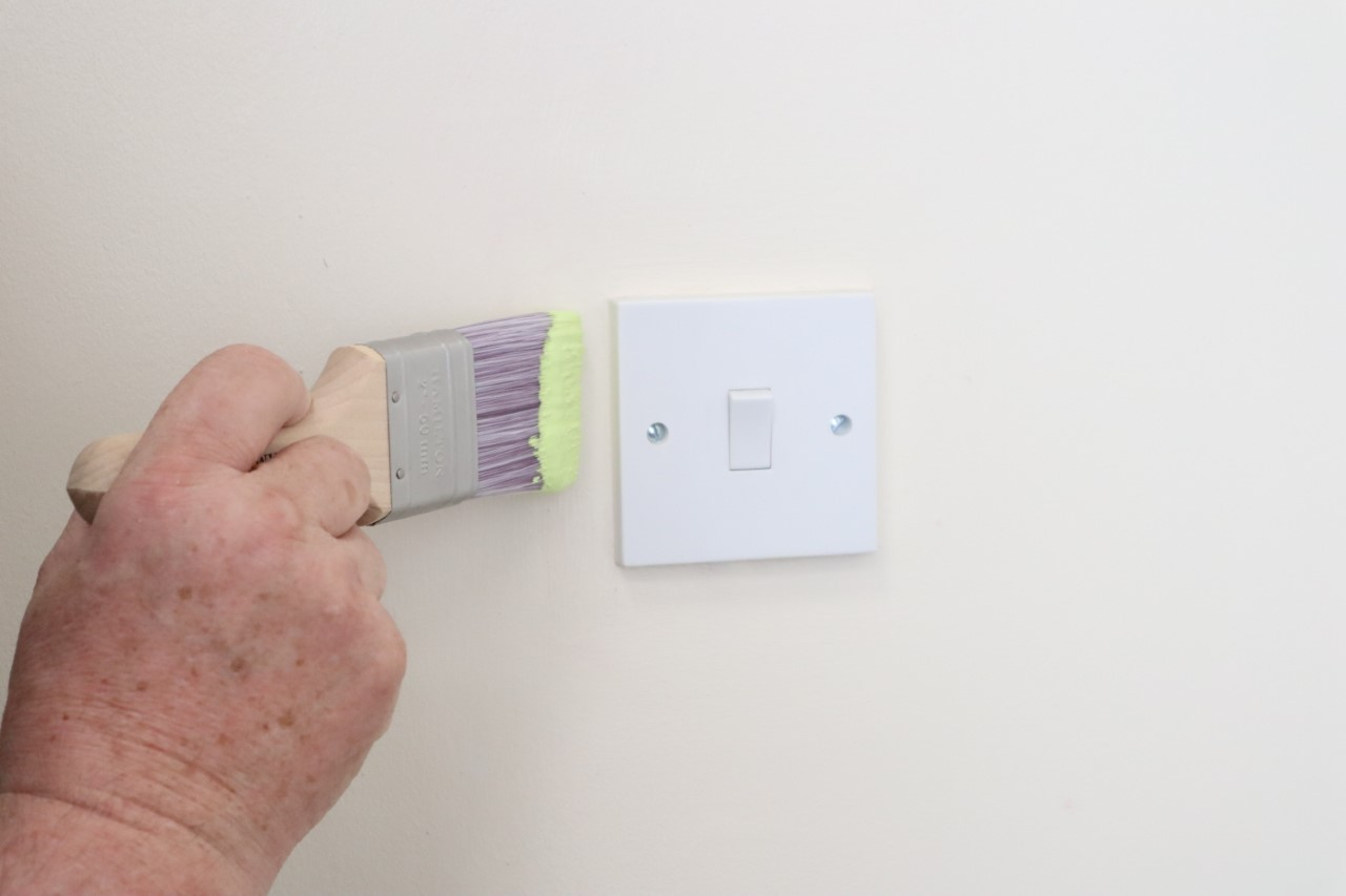 Hamilton's Performance Cutting in Brush - the best brush to paint straight lines