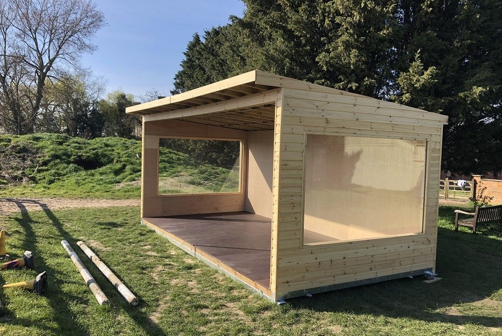 Charity Receives Custom Shelter from Tesa