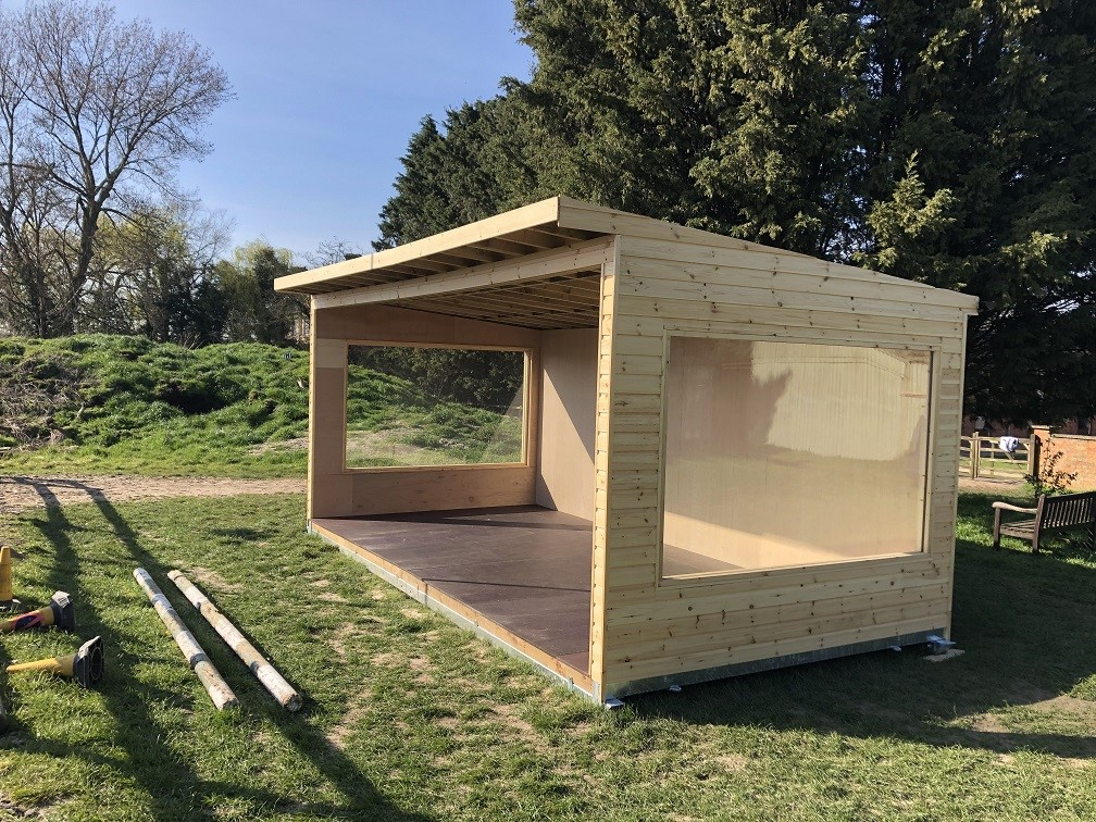 Milton Keynes charity Receives Custom Shelter from Tesa