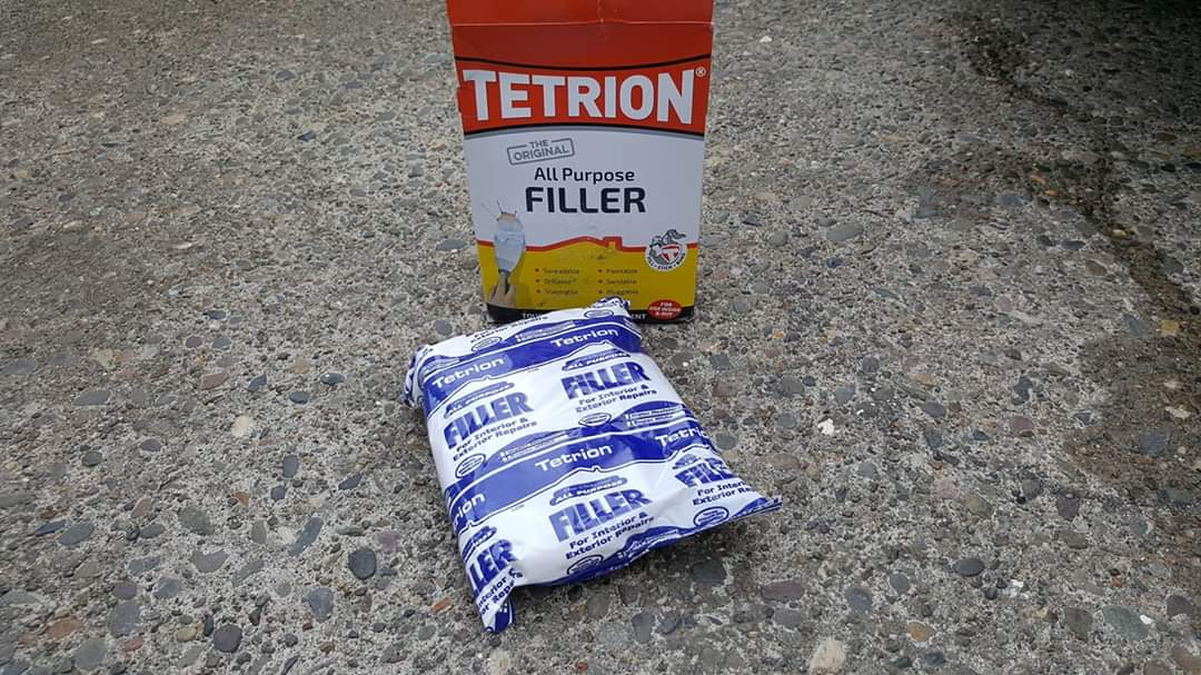 Tetrion All-Purpose Filler Review - interior and exterior filler