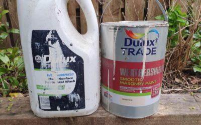 Dulux Weathershield Masonry Paint Review