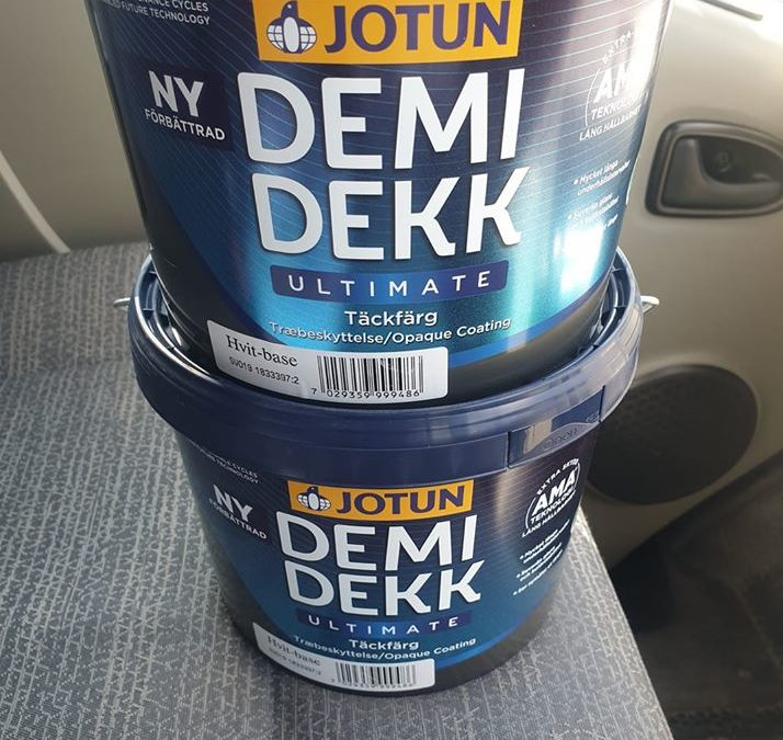 Jotun Demidekk Ultimate Review - an external long lasting paint