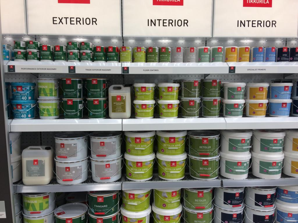 Tikkurila Paint Review and guide- by Mike Gregory