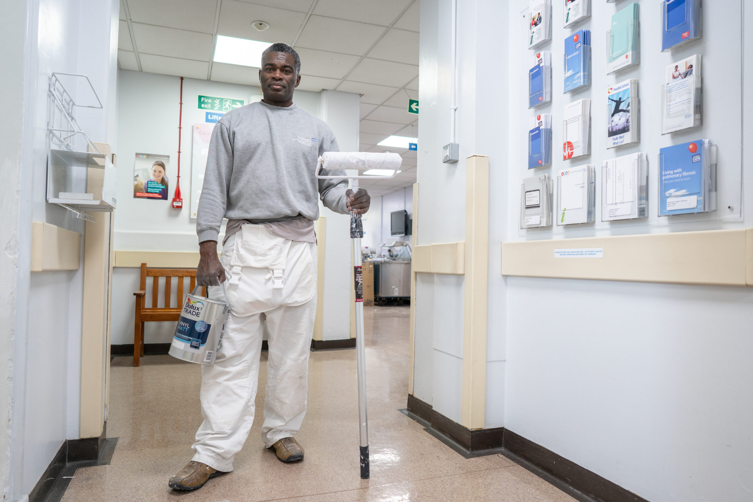 10,000 litres of Dulux Trade Sterishield to NHS