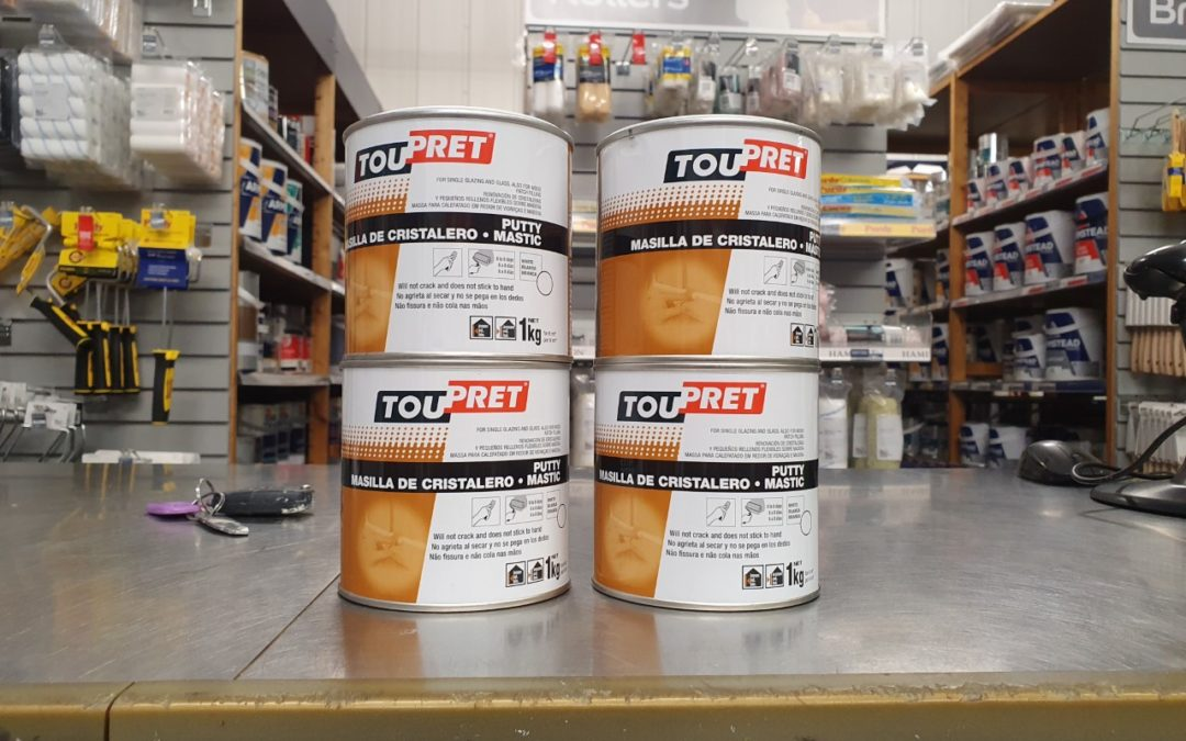 Toupret Putty Mastic Review – Linseed Oil Putty