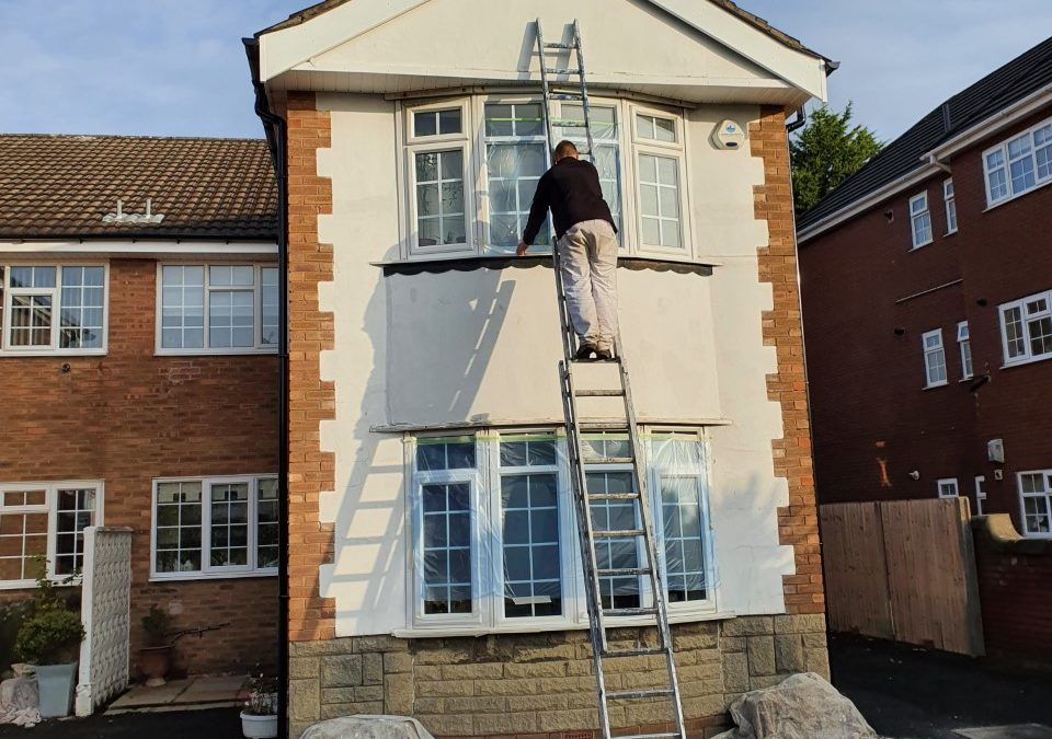 Exterior Painting in Winter, Can it be Done?
