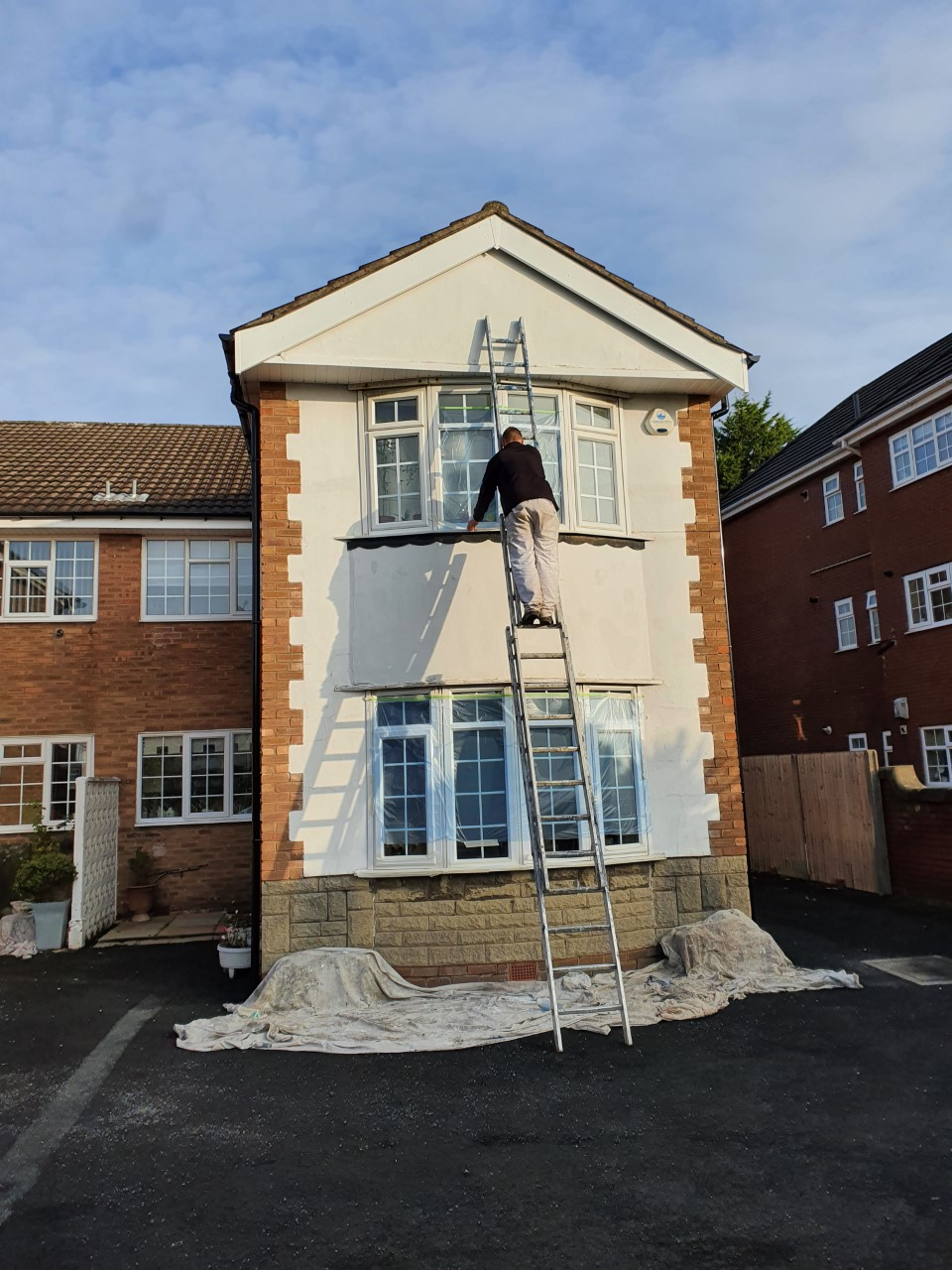 can you carry out exterior painting and decorating in winter?