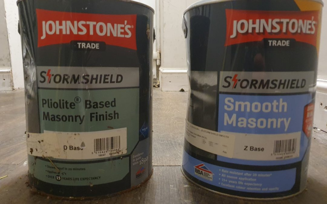 Oil-Based or Water-Based Masonry Paint