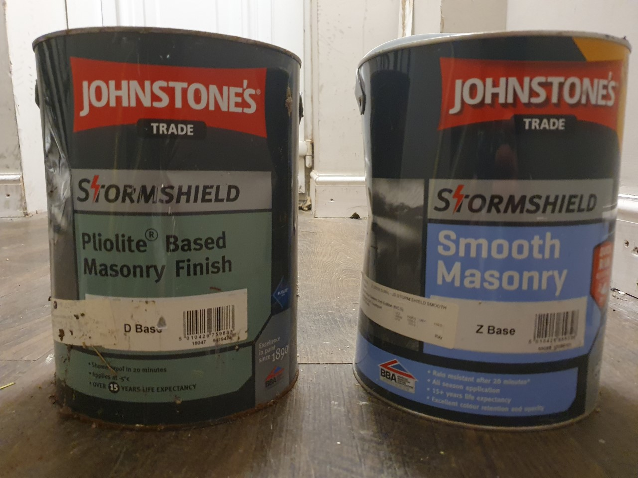 Oil-Based or Water-Based Masonry Paint, which to use and when