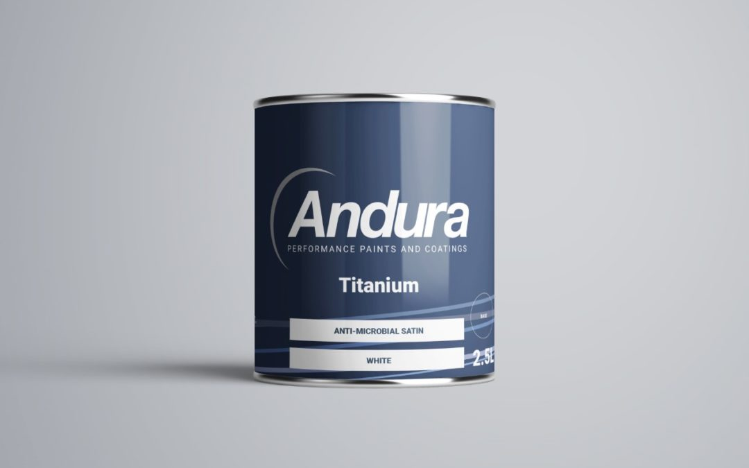 Andura's Titanium Anti-Microbial Proven to Reduce Sars COV2